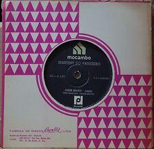 """MARTINS DO PANDEIRO 1967 Chora Mulher Samba Folk Groove 7"""" Single BRAZIL 45 HEAR"""
