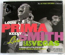 LOUIS PRIMA & KELLY SMITH - LIVE FROM LAS VEGAS - CD Sigillato