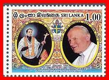 SRI LANKA 1995 POPE JOHN PAUL II SC#1126 MNH RELIGION (YOU DON'T HAVE IT!) (D02)