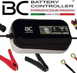 Bc. LITHIUM1500 Chargeur de Batterie Mainteneur Lithium 1-100 Ah Moto