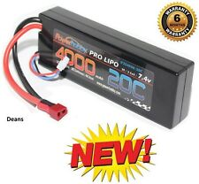 PowerHobby 2S 7.4V 4000mAh 20C Lipo Battery Pack w Deans Plug Hard Case