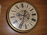 Antique-German-RA-Wall Clock Movement-Ca.1890-To Restore-Kienzle-#N435