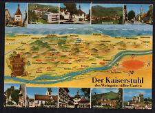 """K845# vieja ak postal del emperador silla, hotel + winzerstube """"para la corona"""""""