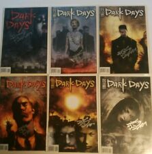 Dark Days Lot 1-6 Signed Ben Templesmith IDW Publishing