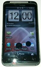 HTC Thunderbolt 4G LTE 8GB Black Verizon Smartphone Cracked Glass Bad LCD
