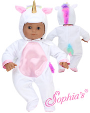 "Sophia's® 15"" Doll Clothes Unicorn Costume for 15"" Dolls"