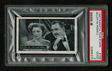 "PSA 2 MYRNA LOY & WILLIAM POWELL 1947 Kwatta Chocolates Card #158 ""The Thin Man"""