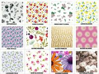 "FLORAL-NATURE Print Gift Tissue Paper Sheet 15"" x 20"" Choose Print & Pack Amount"