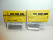 2 A-Line Motor Mount Cradle Weights for Athearn F-7 & Trainmaster,  New