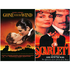 SCARLETT (1994) (2-Disc) + Gone with the Wind (1939) / 2-DVD SET *NEW*