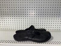 Orthaheel Hannah Womens Leather Orthotic Slip On Mules Size US 10 EUR 41 Black