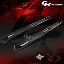 """BLACK 3"""" SIDE STEP NERF BAR RUNNING BOARD FOR 05-16 NISSAN FRONTIER EXTENDED CAB"""