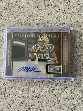 Marques Valdes-Scantling Auto Jersey Card