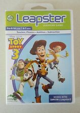 LEAPSTER GAME - TOY STORY 3 with case and instructions