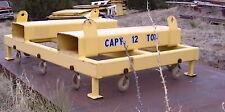 12 Ton Steel Beam Distributive Loadlifting Frame Withforklift Pockets 10 Hooks