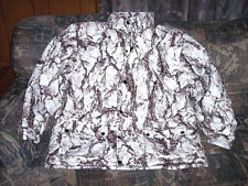 Mens 2X Snow Camo Jacket Natural Gear Winter Coat Hunting Jacket Insulated Coat