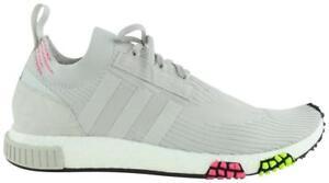 adidas Grey NMD_Racer Primeknit Sneakers 10mz1016