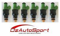 6 x 440CC 42LB Fuel Injectors For Ford Falcon BA BF XR6 Turbo 0280150558