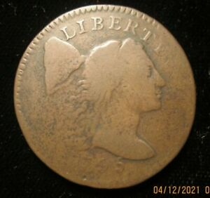 1795 Flowing hair large cent