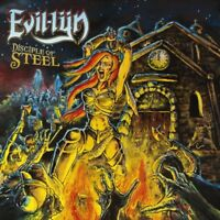 EVIL-LYN - Disciple Of Steel (LIM.400 BLACK V.*HEAVY/SPEED METAL*ENFORCER)