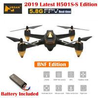 Hubsan H501S X4 5.8G FPV RC Quadcopter W/ 1080P GPS Follow Me RTH No Transmitter