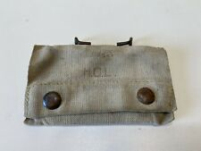 authentic 1917 WW1 US Aid Kit Web Belt Pouch