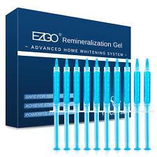 Registrado en la FDA 10pc jeringas de blanqueamiento de dientes Remin remineralización Gel después de