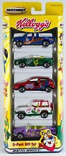 Matchbox Kellogg's 5 Pack 2001 NEW Chevrolet Bel Air Ford F-150 Pickup MGF 1.8i