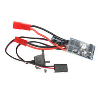10A Brushed ESC Two-Way Motor Speed Controller With Brake For 1/16 1/18 1/24 RC