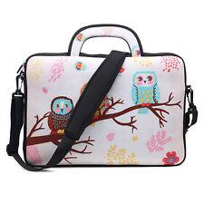 "Neoprene Laptop Computer Briefcase Bag W. Shoulder Strap & Handle 15.6""  3080"