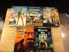 Breaking Bad DVD Series Complete Season 1-5 Pre-Owned