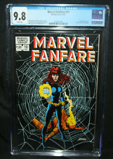Marvel Fanfare #10 - George Perez Black Widow Cover - CGC Grade 9.8 - 1983