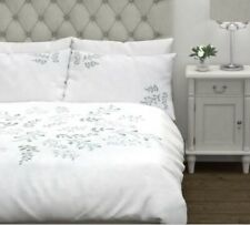 Laura Ashley Sofia Embroidered Duck Egg Bedset Single