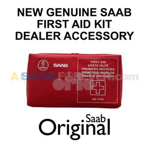 SAAB FIRST AID KIT Factory Dealer Accessory NEW GENUINE OEM 9-3 900 9-5 Aero