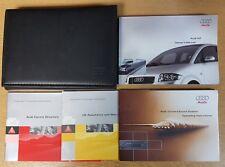 GENUINE AUDI A2 HANDBOOK OWNERS MANUAL WALLET 1999-2005 PACK H-172 !