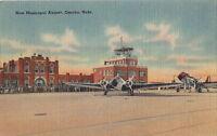 Postcard New Municipal Airport Omaha Nebraska NE