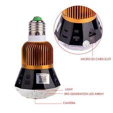 New HD 1080P Full Hidden Mini WIFI IP Light Bulb Camera Motion Detection CCTV