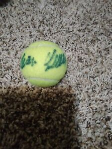 Ivan Lendl Signed Autographed Wilson Tennis Ball US Open