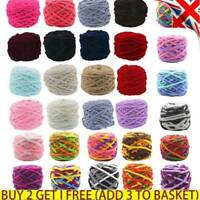 100g Thick Yarn Knit Chunky DIY Blanket Scarf Knitting Balls DIY Sweater