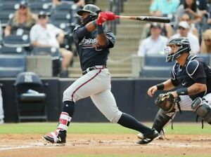 RONALD ACUNA JR BRAVES YOUNG STAR CLASSIC COLOR 8x10 PHOTO A