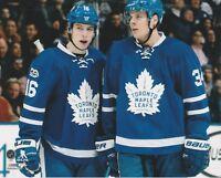 Auston Matthews Mitch Marner Unsigned 8x10 Photo Toronto Maple Leafs