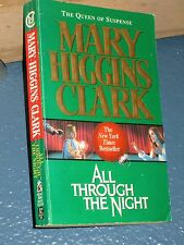 All Through the Night by Mary Higgins Clark FREE SHIPPING