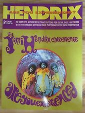 PARTITION MUSIQUE GUITARE BASS AND DRUMS JIMI HENDRIX ARE YOU  EXPERIENCED