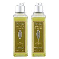 2 x L'Occitane Verbena Shower Gel 250ml Bath Body Cleanser Rich Scented #12226_2