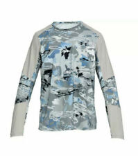 Under Armour FISH Cool Switch Men Hydro Camo Thermocline Hybrid LS Shirt NWT 3XL
