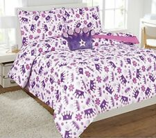 CROWN GIRLS COMFORTER AND SHEET SET 8 PCS FULL SIZE