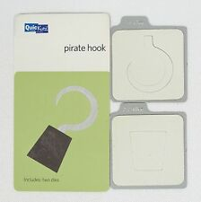 Quickutz 2x2 Cutting Die Pirate Hook KS-0786 Halloween Costume Scrapbook Cards