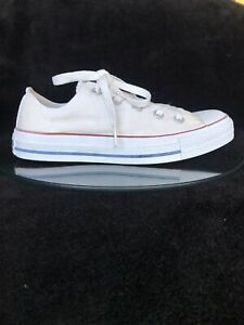 Converse  woman's white sneakers / keds . Size 6 ( 6,5 )