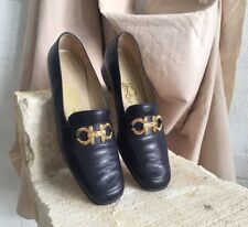 Vintage Salvatore Ferragamo Loafers Made In Italy