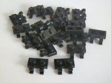 Lego 60470# 20x placa 1x2 con 2 clip negro 10194 7744